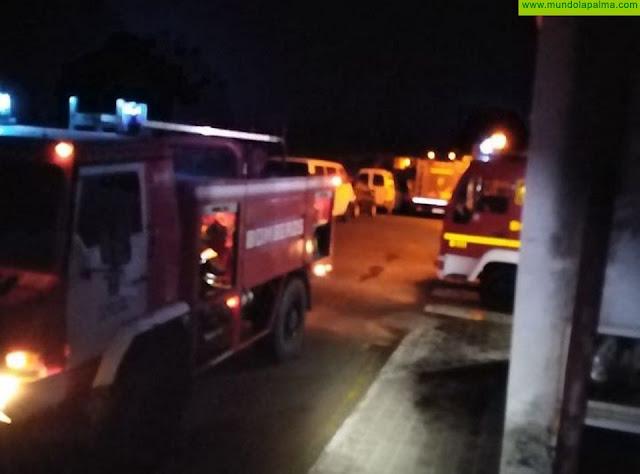 Una vivienda deshabitada se incendió la pasada madrugada en Breña Alta