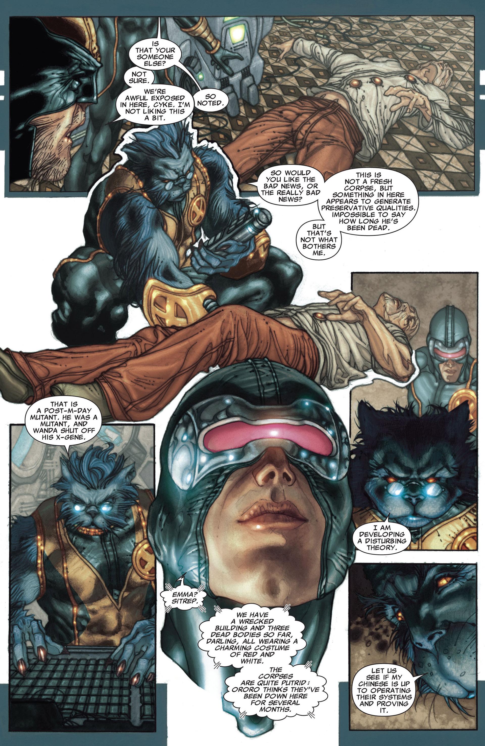 Read online Astonishing X-Men (2004) comic -  Issue #27 - 22