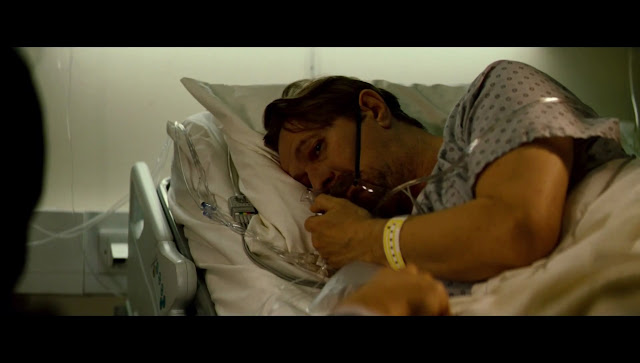 The Dark Knight Rises Gary Oldman Commissioner Gordon meeting in Hospital
