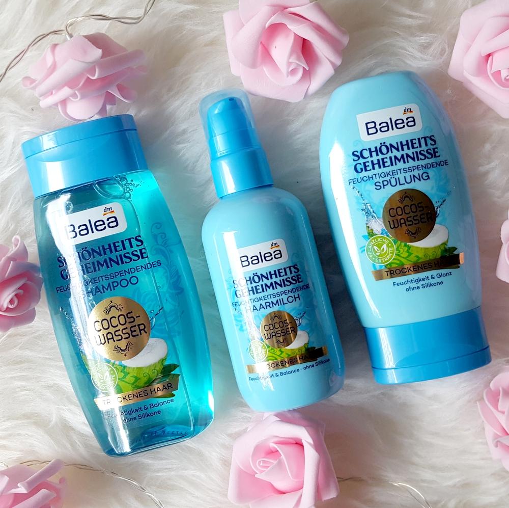 Confetti On The Blog Balea Schönheitsgeheimnisse Cocos Wasser Für