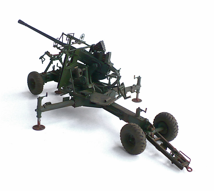 The Great Canadian Model Builders Web Page!: Canadian 40MM Bofors Antl-Aircraft Gun