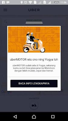 uberMOTOR wis ono ning Yogya loh