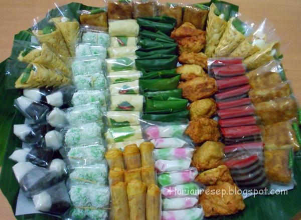 54 Resep Hidangan Arisan Dan Sajian Isian Snack Box Murah Meriah
