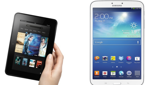 "Kindle Fire HD 7"" VS Samsung Galaxy Tab 3 8.0 