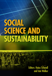 New Book Social Science And Sustainability Eds Heinz Schandl And Iain Walker On 1 June 2017 International Society For Industrial Ecology Isie