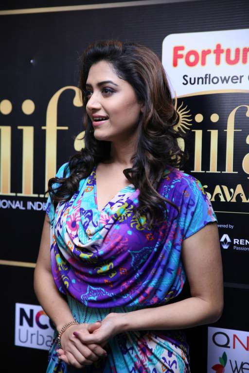 Malayalam actress Mamta Mohandas graced the IIFA Utsavam  press meet