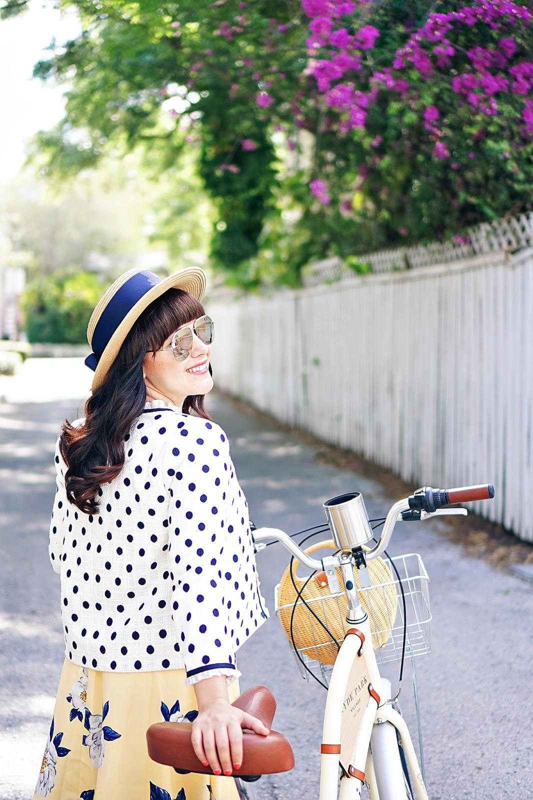 Biking Through Hyde Park Village