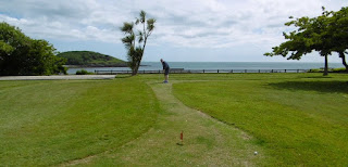 The views from the Putting courses at Looe Bowling Club in Cornwall are some of the finest we've seen