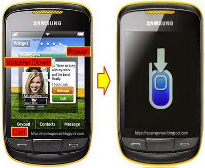 Sukses Flash Samsung Corby 2 S3850 Dengan Multiloader Repairs Ponsel