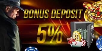 Bonus Deposit 5%
