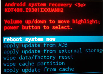 system-recovery-mode