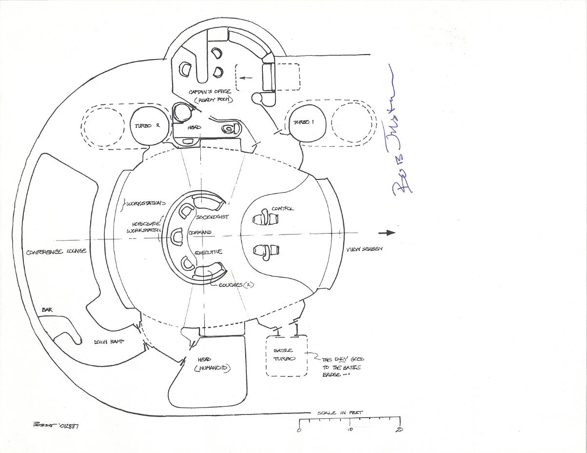 The Dork Review Star Trek U S S Enterprise Command Deck