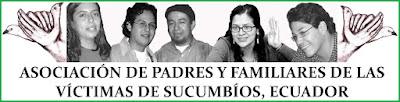 Padres y Familiares de las Víctimas de Sucumbíos