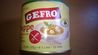 Gefro Suppe und Universalgewürz in dose