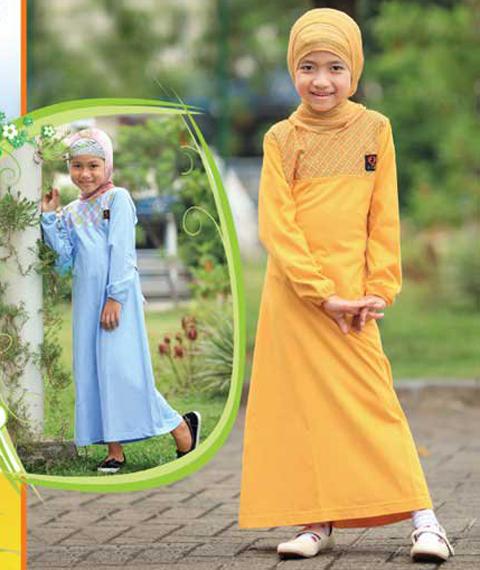baju muslim anak perempuan terbaru 2018