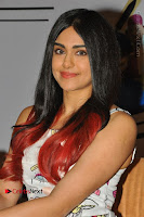 Bollywood Actress Adah Sharma Pos in White Printed Short Dress at OPPO F3 Plus Selfie Expert Mobile Launch .COM 0040.jpg