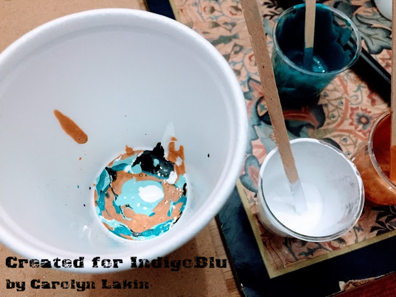 IndigoBlu Blog: Road testing new IndigoBlu Acrylic Pouring Kit