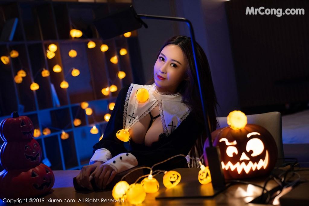 Image XIUREN-No.1802-Zhou-Jing-Kong-MrCong.com-007 in post XIUREN No.1802: Zhou Jing Kong (周井空) (43 ảnh)