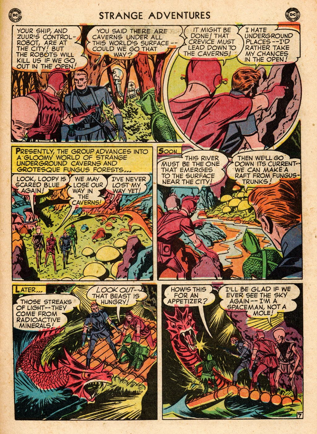 Strange Adventures (1950) issue 2 - Page 45