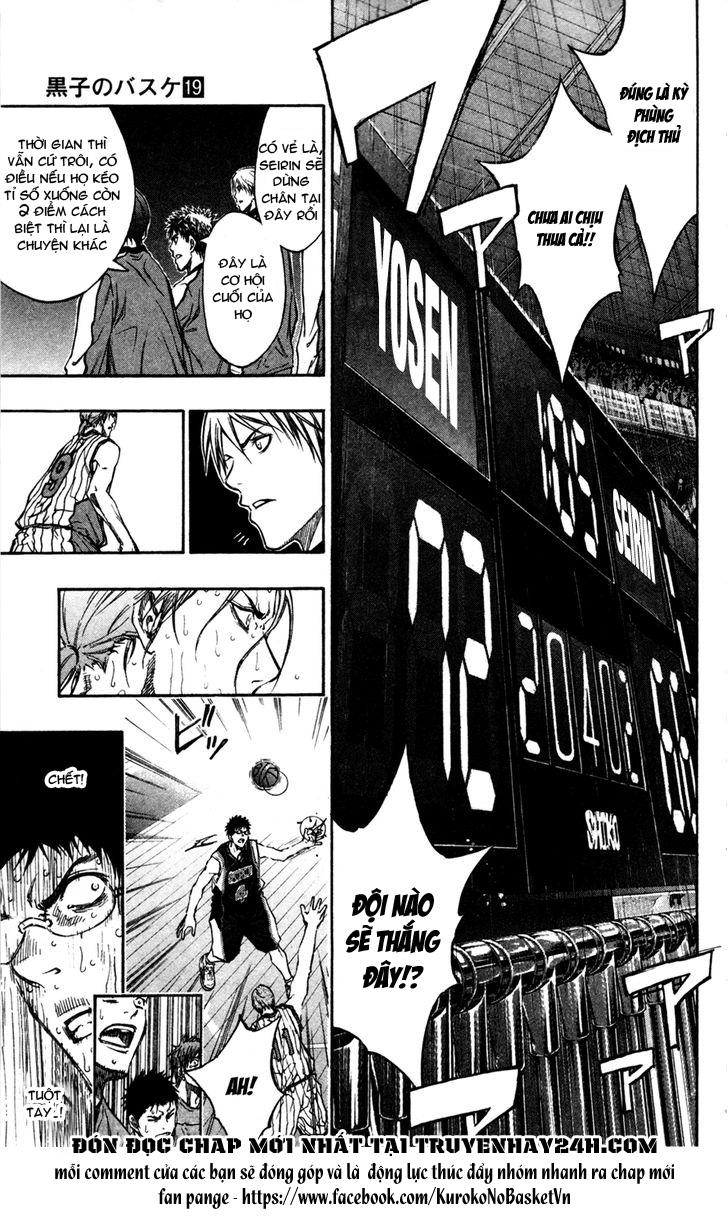 Kuroko No Basket chap 166 trang 15