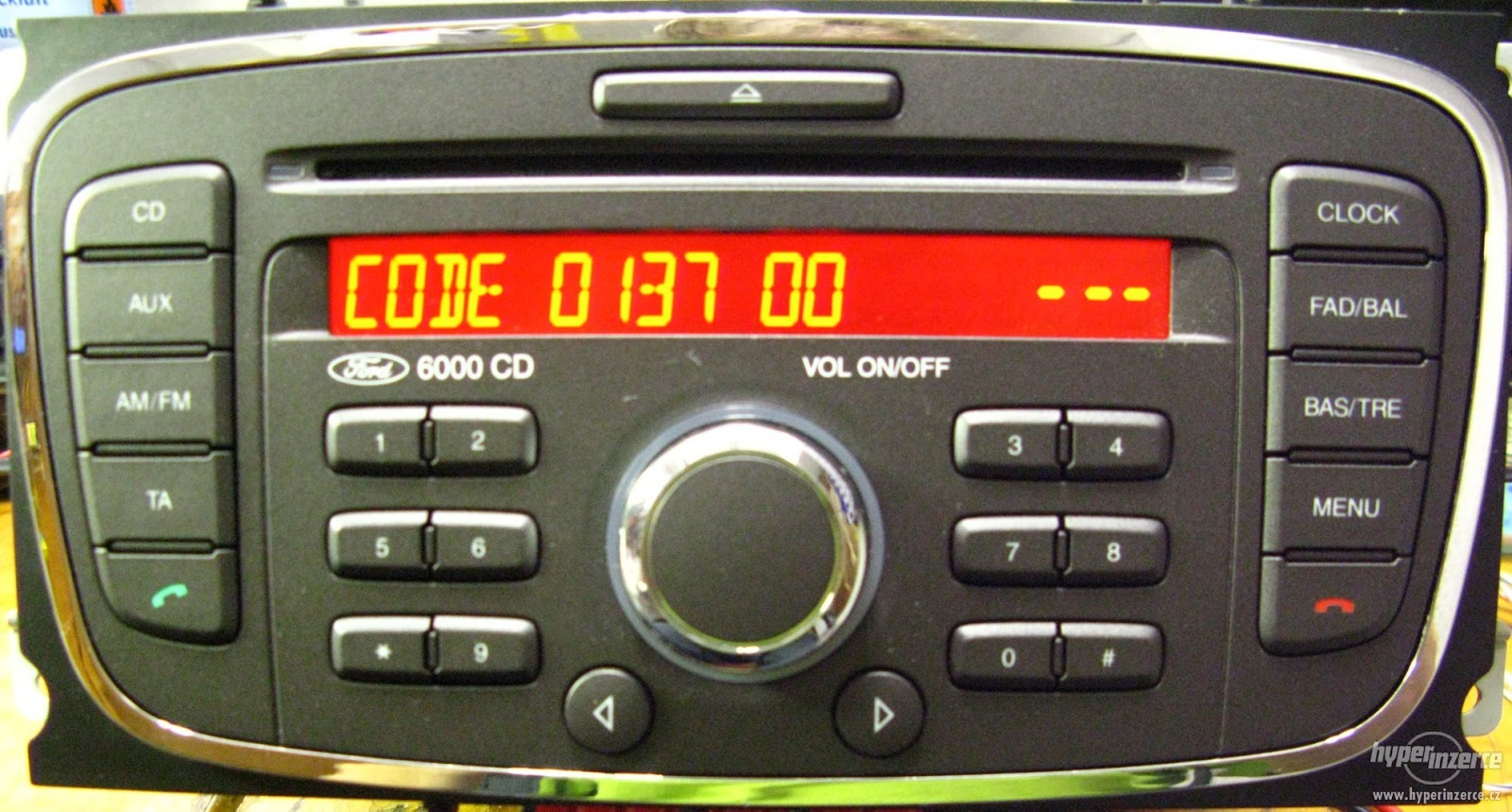 car radio code calculator ford v serial conslearle. Black Bedroom Furniture Sets. Home Design Ideas