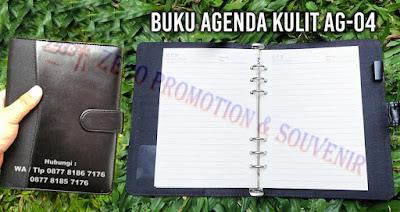 Souvenir Buku Agenda Kulit AG-04, Buku Agenda Semi Kulit