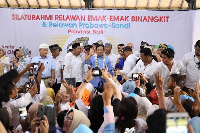 """Jubir: Prabowo Tidak Mau Memaksakan Diri """"Sok Milenial"""""""