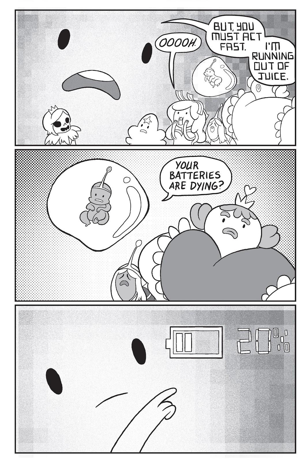 Read online Adventure Time: Pixel Princesses comic -  Issue # Full - 91