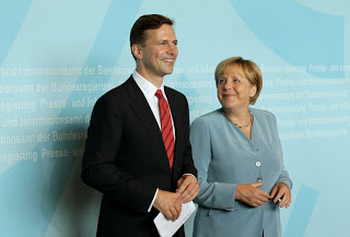 German government spokesman Steffen Seibert