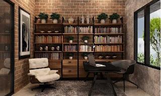 5 Ide Desain Taman Perpustakaan di Rumah Minimalis Anda
