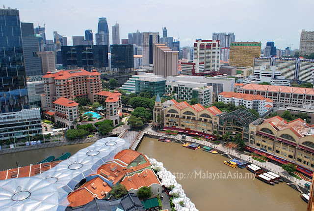 View of Clarke Quay