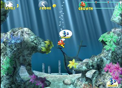 大魚吃小魚3D版(吞食魚),立體海底世界的休閒遊戲!
