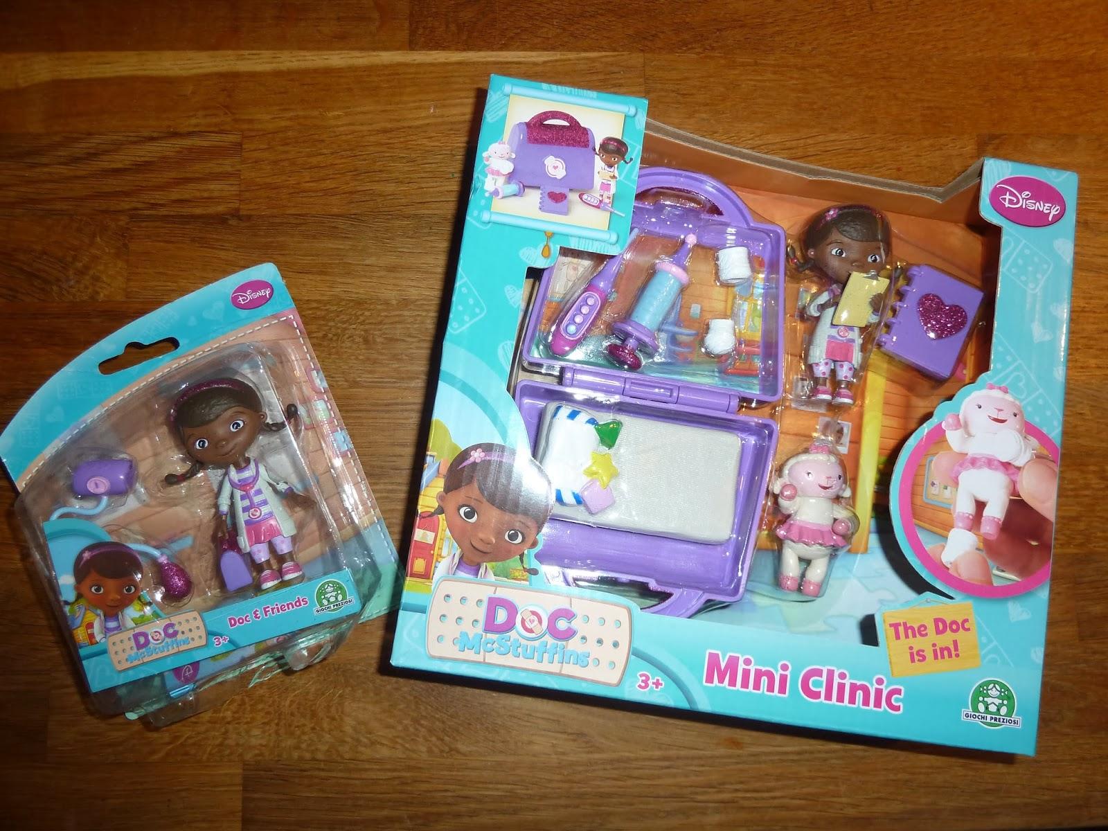 Qwerty Mum Doc Mcstuffins Mini Clinic Playset
