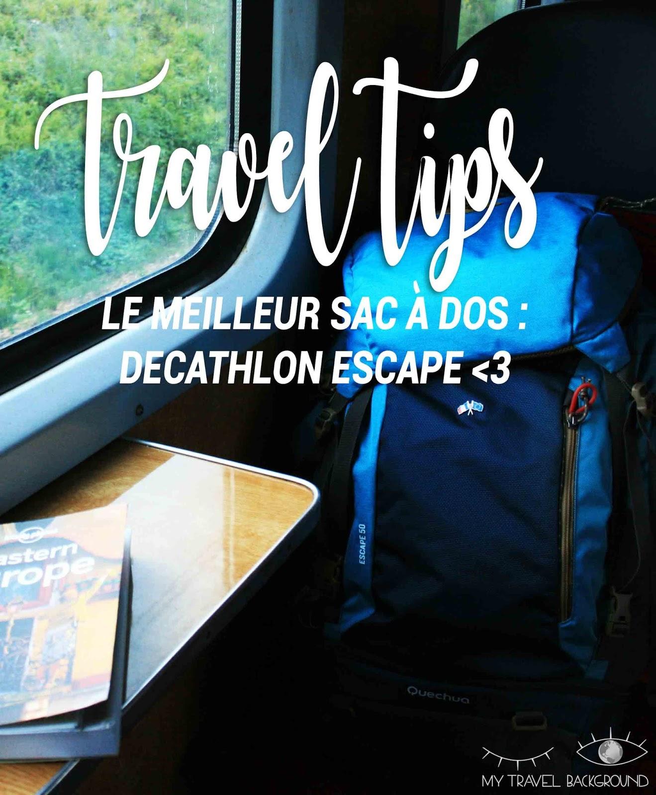 My Travel Background : voyager en sac à dos, quel modèle choisir, et quoi mettre dedans?