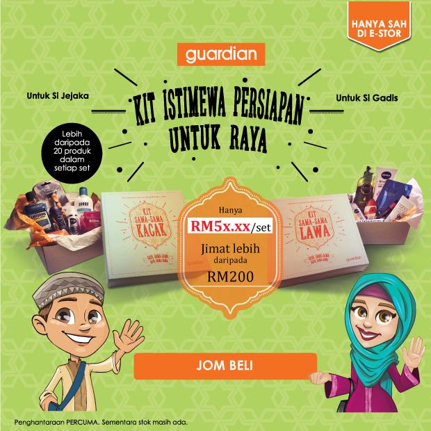 Guardian Malaysia Online Store Beauty Kit RM59.90 (Free Shipping)