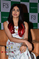 Bollywood Actress Adah Sharma Pos in White Printed Short Dress at OPPO F3 Plus Selfie Expert Mobile Launch .COM 0035.jpg