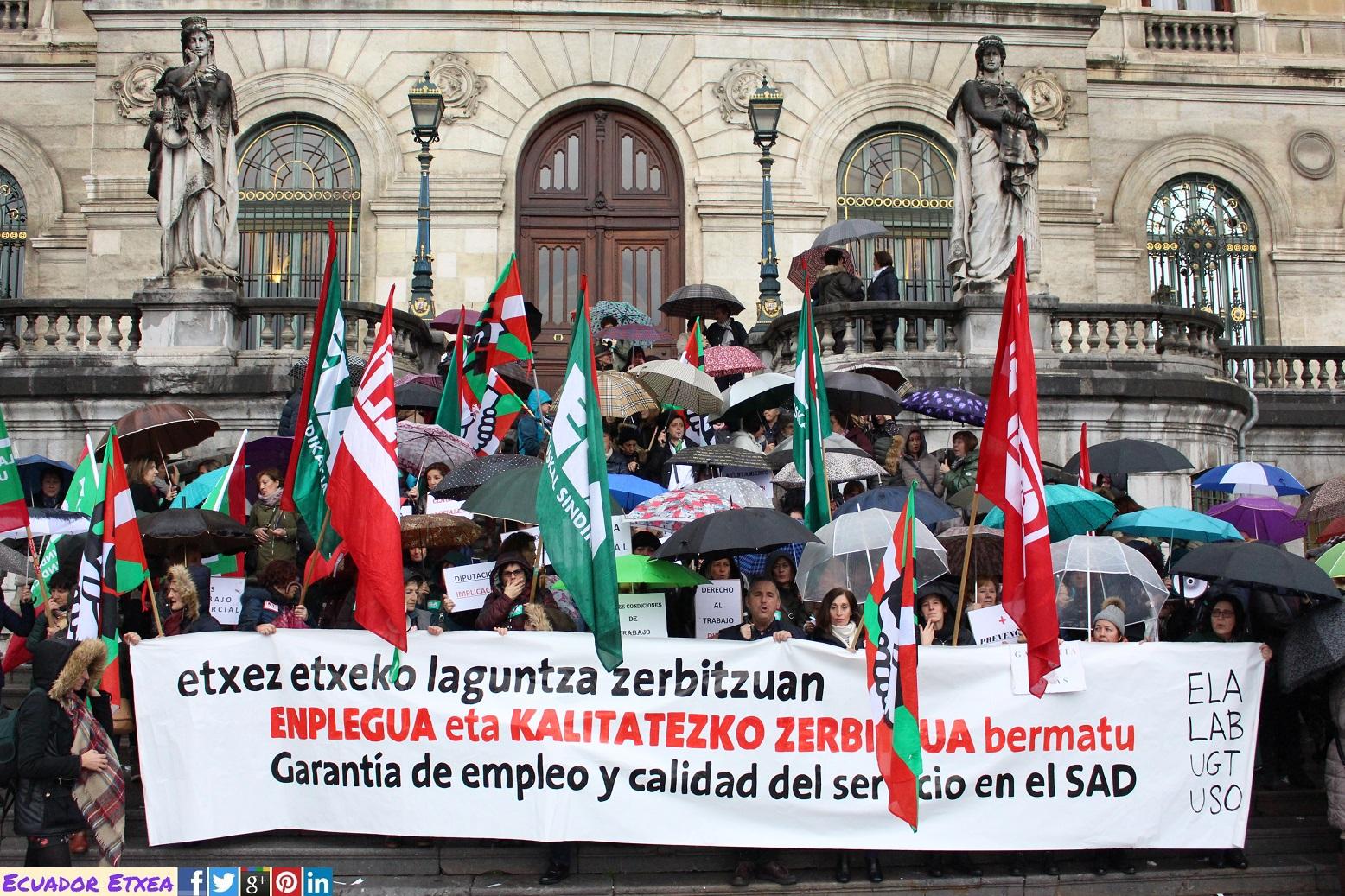 Ecuador Etxea (oficial): Trabajadoras del Servicio de Ayuda a ...