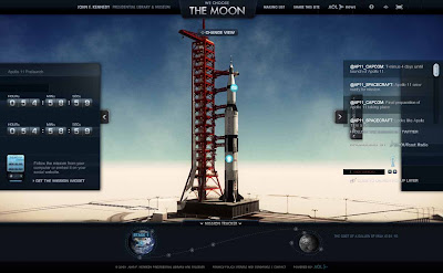 a critique of we choose the moon an interactive website about the apollo 11 mission Nearly 50 years after it traveled to the moon and back, the apollo 11 command capsule is being prepped for another mission, though this time on terra firma the capsule, columbia, is set to leave.