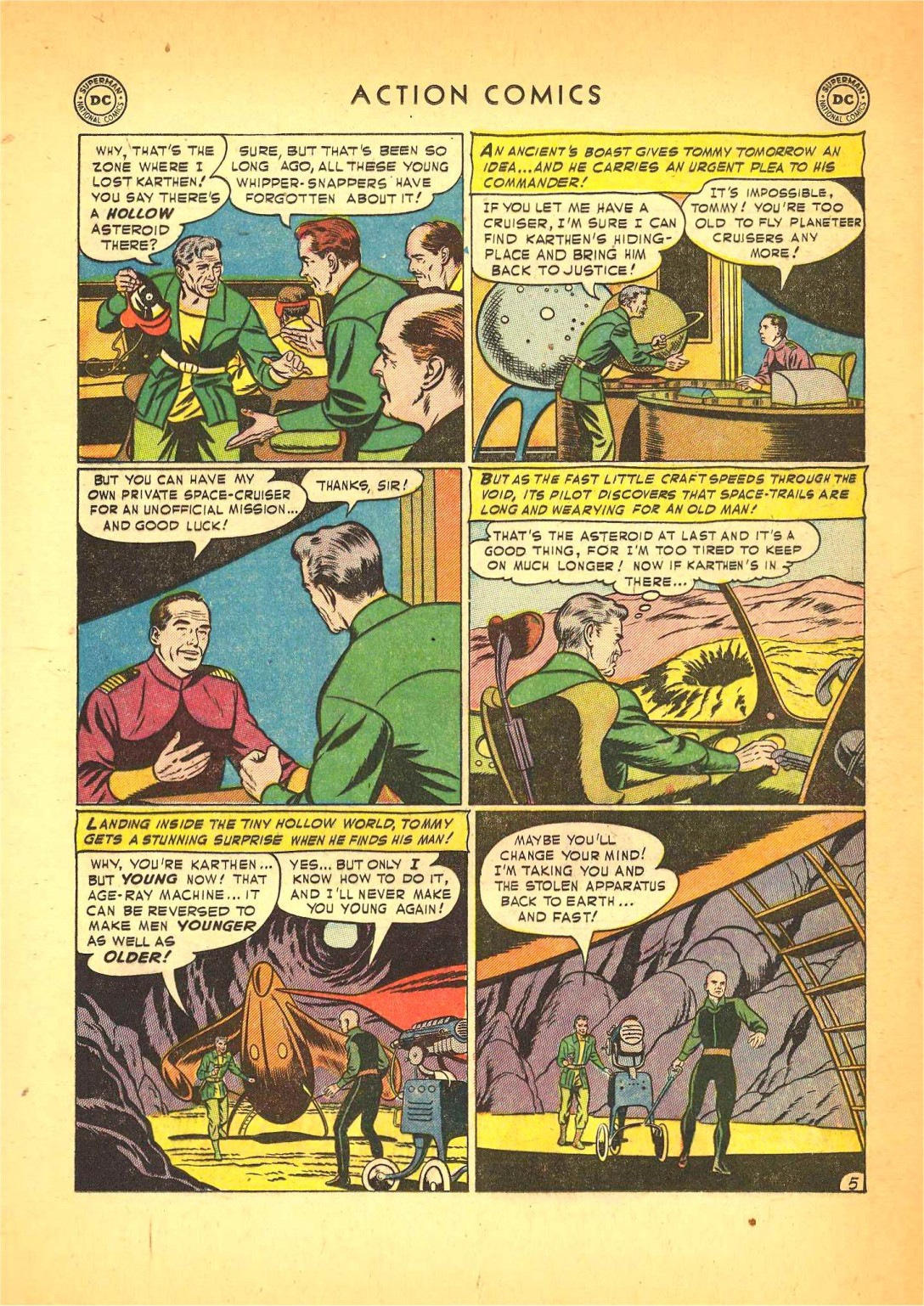 Read online Action Comics (1938) comic -  Issue #166 - 20