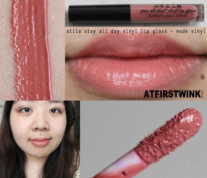 0d3805aed8035 Review  stila stay all day vinyl lip gloss - nude vinyl (sample)