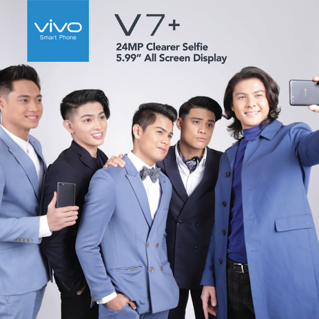 Vivo V7+ fulfills your selfie goals with the 24 MP Clearer Selfie Camera