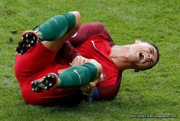 Ronaldo+Injured