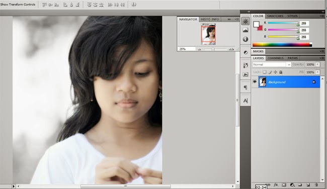 Tips Black Selective Color Menggunakan Photoshop