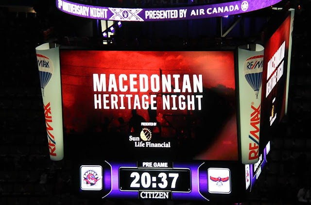 Toronto - Statt NBA Cheerleader makedonischer Volkstanz