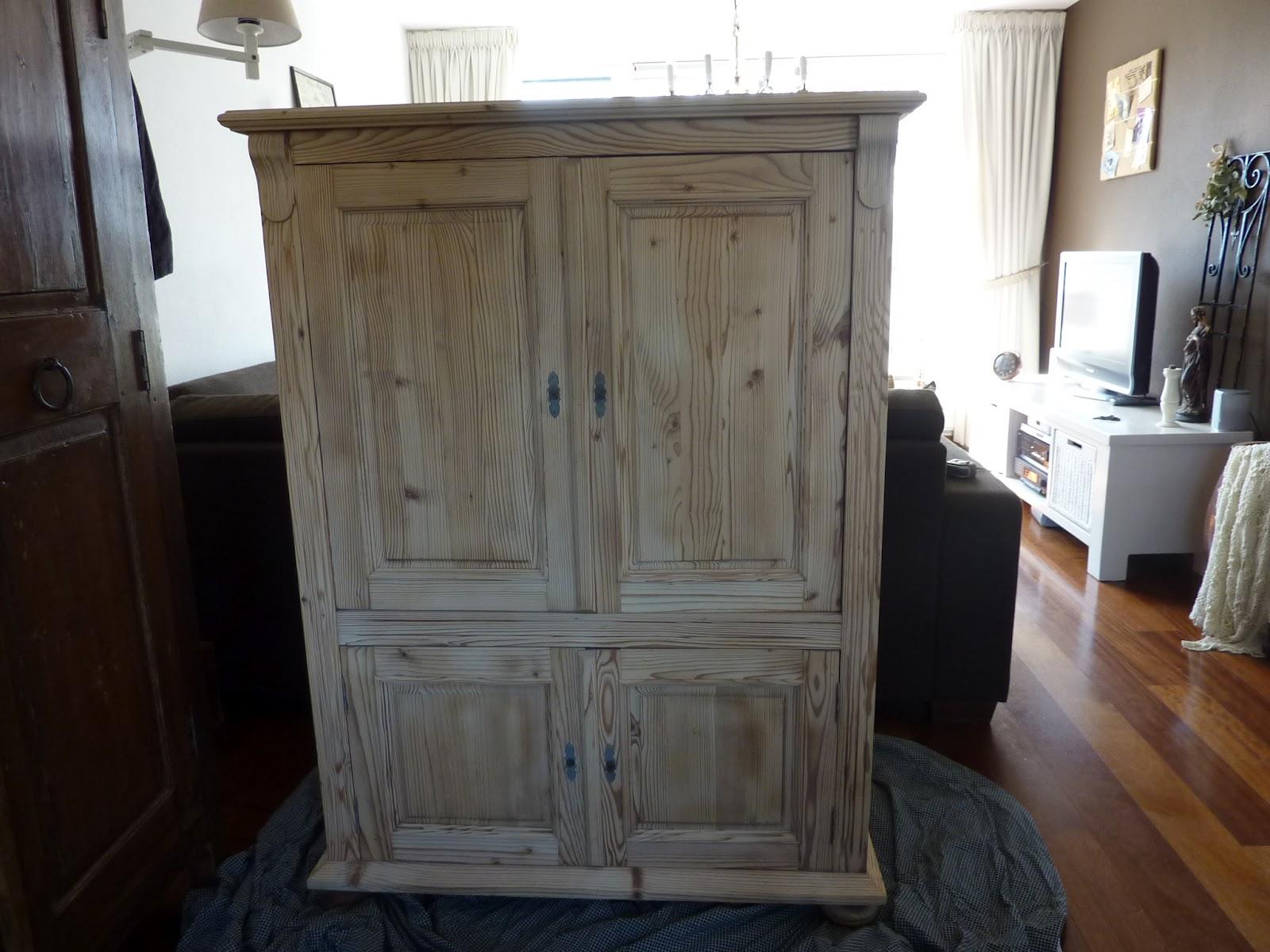 Meubels Wit Verven : Eiken meubels wit maken eiken klassiek vintage zwart steigerhout