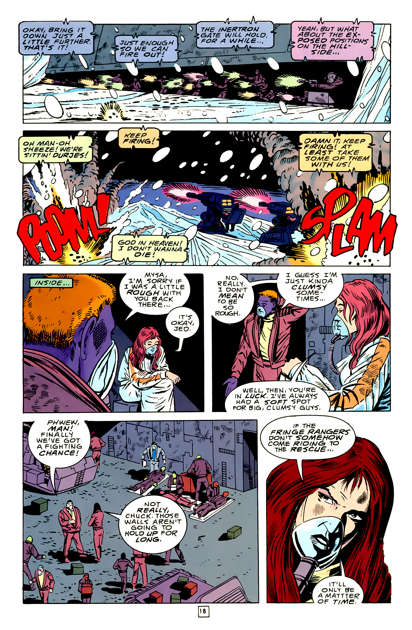 Legion of Super-Heroes (1989) 16 Page 18