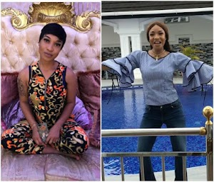 After born again, Tonto Dikeh shares 'Praise' sermon on IG