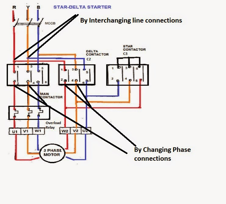 Star+Delta+Power+Phase+changer Abb Motor Starter Wiring Diagrams on