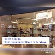 Books Garage, Toko Buku Impor Keren di Surabaya