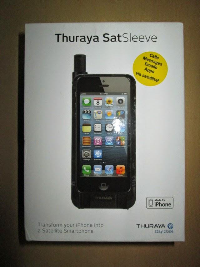 hape satelit Thuraya SatSleeve